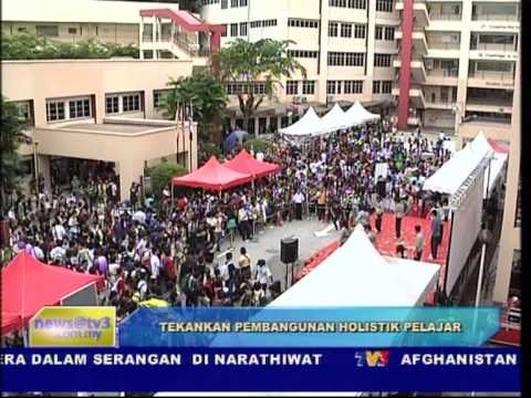 Taylor's College (Pre-University) on Bulletin Utama, TV3