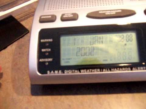 Midland Same Weather Radio Manual Wr-3000