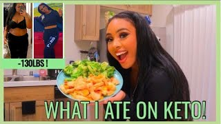 I LOST OVER 100 LBS ON THE KETO DIET | What I Eat In a Day on Keto | Easy Keto Meals | Rosa