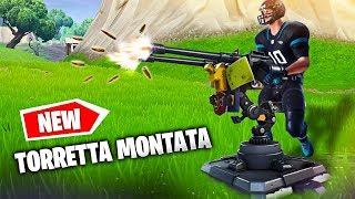 Ecco la TORRETTA MONTATA! *NUOVA* Arma su Fortnite Battle Royale ITA!