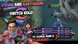 Zxuan and BabyShark Swap Heroes?