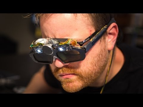 Testing the CastAR Augmented Reality Glasses