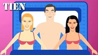 10 Porno Zoektermen van Vrouwen - TIEN