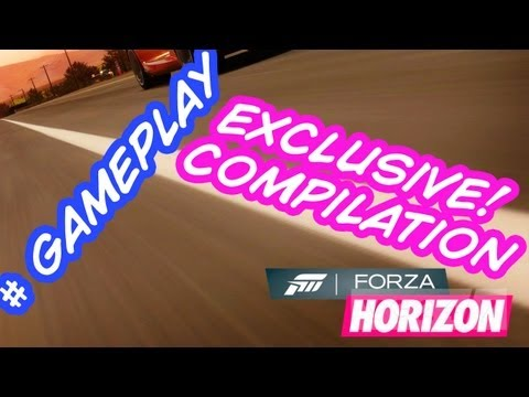 Forza Horizon - Exclusive Eurogamer 2012 Compilation Gameplay