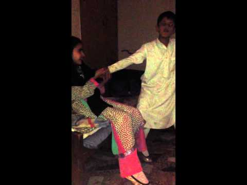 Little pathan cousin singing pashtun song and man handling my other cousin