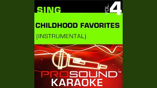 The Sister Song Karaoke Instrumental Track In The Style Of Children 39 S Favorites