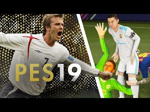 PES 2019 БУДЕТ ВЫГЛЯДЕТЬ ЛУЧШЕ FIFA 19
