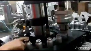 FULL AUTOMATİC AEROSOL FILLING MACHINE