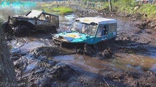4x4 Off-Road vehicle mud, water race | ET 2 | Antsumae, 2017