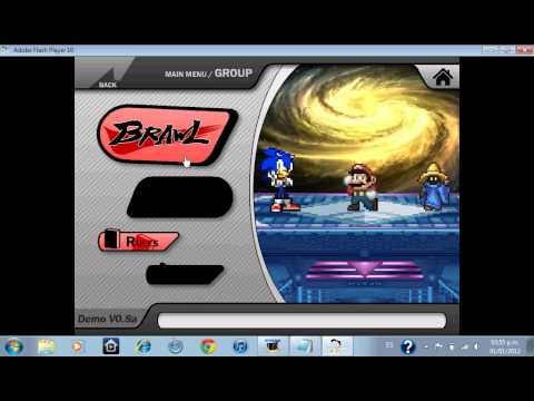 Review de Super Smash Flash 2 v0.8