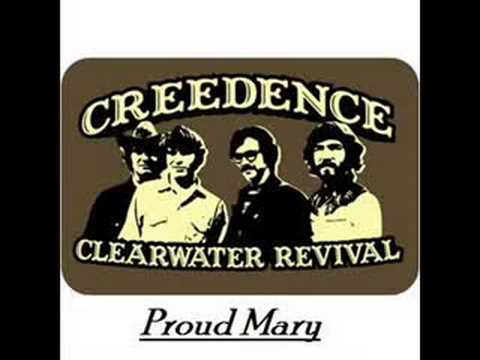 Creedence Clearwater Revival - Proud Mary video