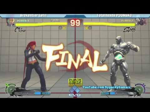 EVO  - SSF4 AE - Poonkgo Seth vs Latif CViper