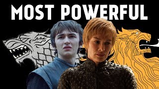 Ranking the Most Powerful Characters in Game of Thrones / ASoIaF