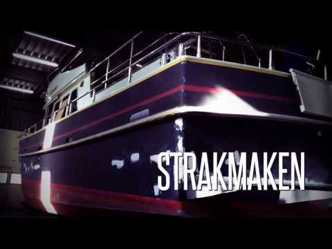 Alm Trawler - Jachtschilder Professional Boat Care