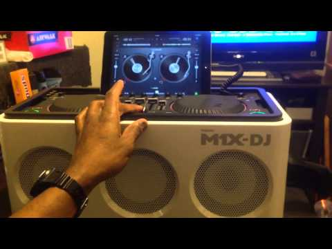 My Philips M1X DJ Electro Spin 2 Set
