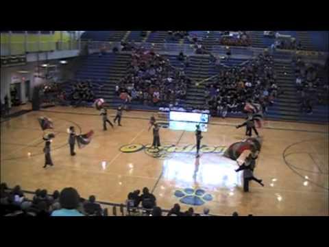 "2008 Jacksonville High School Winterguard ""So Alone"""