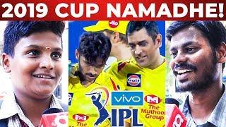 Thala Dhoni Irukaaru! Cup Namakudhan..   CSK vs RR Match