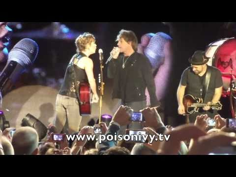Bon Jovi Surprise Performance with Sugarland Music Videos