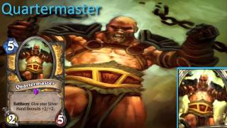 Quartermaster card sounds in 12 languages -Hearthstone✔