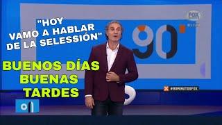 LO QUE TODOS ESPERABAN: RUGGERI HACIENDO LA EDITORIAL DE 90 MINUTOS 😂😂