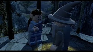 LEGO Lord of the Rings 100% Overworld Guide #14 - Rivendell (All Collectibles)