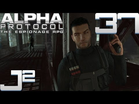 Let's Play Alpha Protocol - 37 [Video Killed The Radio Star]