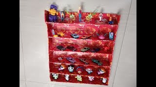 DIY: Make yourself wall mounted doll store with cardboard for kids- best out of waste