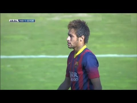 Valladolid  vs Barcelona (1-0) All Goals & Highlights 08.03.2014