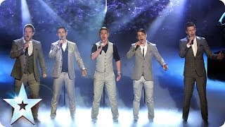 Collabro Are Singing Stars Britain 39 S Got Talent 2014 Final