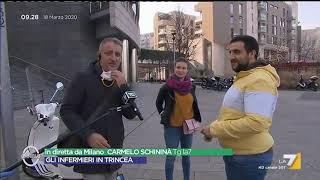 Una coppia a Milano mano per la mano, Gaia Tortora: