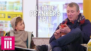 A Kid Trying To Buy A Pint : Little Prankers