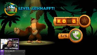Donkey Kong Country Returns [Streamaufzeichnung 2018] - #3