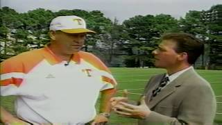 1998 Phillip Fulmer Interview (Preseason)