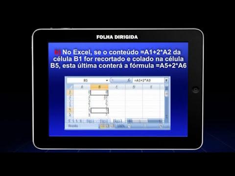 Videoaula de Informatica: Microsoft Office | Folha Dirigida