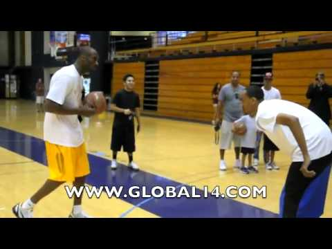 Bow Wow vs. Kobe Bryant, 1-on-1 | $1000 on the line | Part 1