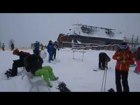 Powder Day At Keystone Ski Resort In Colorado - 12/14/2014