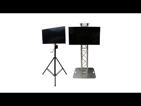 ProX XT-SSTM3260 Universal TV/Monitor Mount for 12 Truss & Speaker Stands