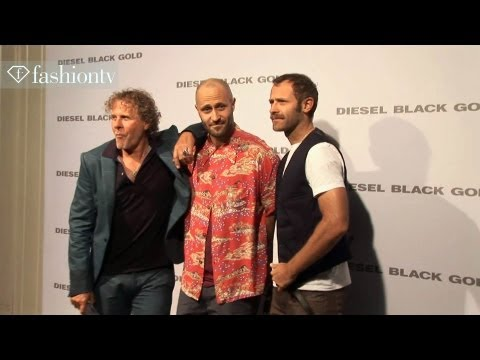 Stephen Dorff Front Row at Diesel Black Gold Men Spring/Summer 2014 | Milan Men FW | FashionTV
