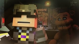 Minecraft Animated Short : FIVE NIGHT'S AT FREDDY'S!