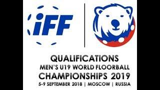 Россия до 19 : Франция до 19