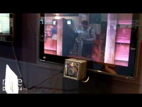 DSE 2014: Kintec Digital Shows Its Digital Signage Solution With Bar Code Scanner