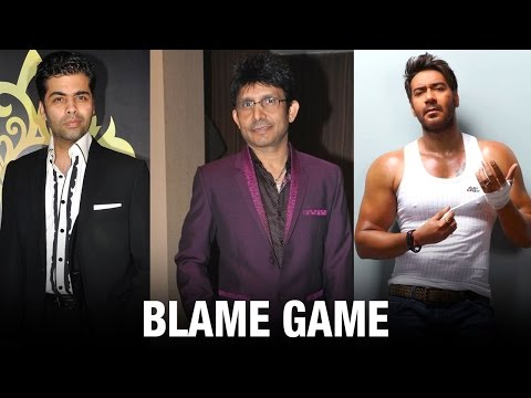 Ajay Releases Tape Of KRK Accusing Him Of Taking Bribes From KJo | ADHM | Shivaay | Bollywood News