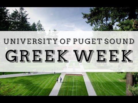 GREEK WEEK at the University of Puget Sound