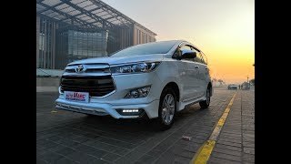 INNOVA CRYSTA 2019 with the Latest STELLAR Bodykit and New TAIL LAMPS