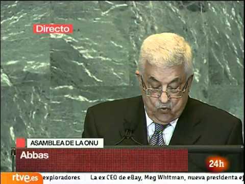 Discurso de Mahmoud Abbas, Presidente de Palestina, en la ONU. - www.sanchezreinaldo.com