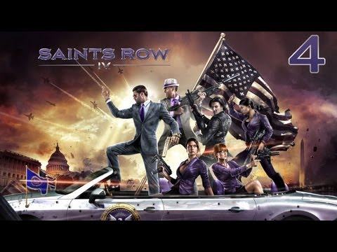 Co-op Let's Play - Saints Row IV - Episode 4 - The newest super heroes in town!