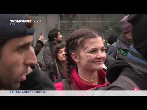 Paris : des dizaines de milliers de manifestants mobilisés