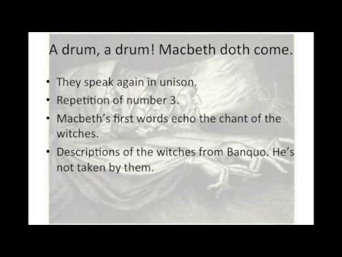 an analysis of shakespeares macbeth An analysis of the theme morality in macbeth by william shakespeare macbeth, immoral behavior of macbeth and lady macbeth.