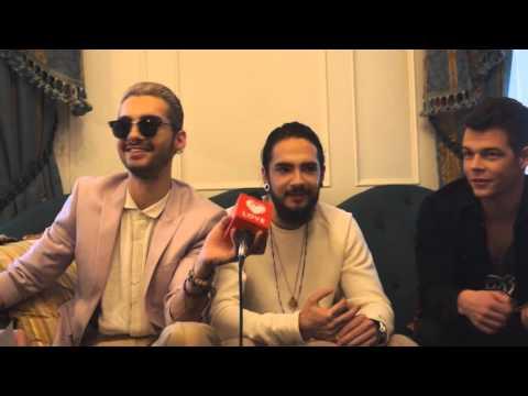 Tokio Hotel Interview (St. Petersburg) 27.10.15