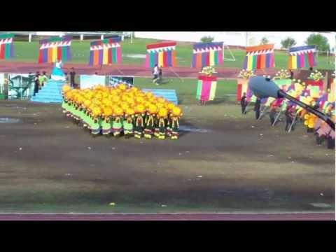 Zamboanga Hermosa Festival Street dance Competition 2012:  TNHS Performance